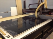 Our huge 3m x 2m Tekcel CNC router