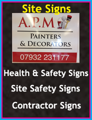 site signs, health and safety signs, site safety signs, contractors signs, Chorley, Wigan, Preston, Lancashire